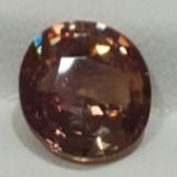 Natural Orange-Pink Sapphire Padparadscha