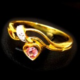Pink Sapphire Rings B8RI-078