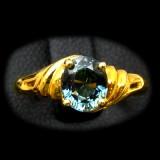 Bluish Green Sapphire Rings B8RI-079