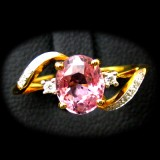 Pink Sapphire Rings B8RI-080