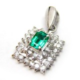 Emerald Pendant B8PND-020