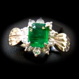 Emerald Ring B8RI-043