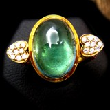Tourmaline With Yellow Gold RI-003