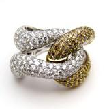 Diamond/White Gold Rings RI-012