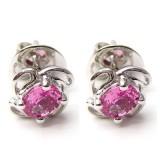Pink Sapphire Earings B8ER-001