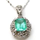 Emerald Pendant B8PND-012