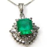 Emerald Pendant B8PND-014